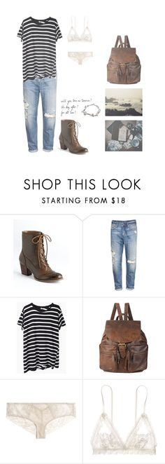"""""""Feels So Scary Getting Old"""" by sierrabrett ❤ liked on Polyvore featuring Nine West, H&M, R13, Forever 21, INDIE HAIR, Madewell, Hanky Panky, ribs and lorde"""