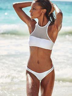 Victoria's Secret Mesh High-Next Bikini Top