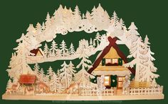 Ratags Online Shop - candle arch, winter holidays, carved figures, big