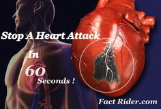 Stop A Heart Attack Just In 60 Seconds? Yeah, It`s Possible ! | Fact Rider