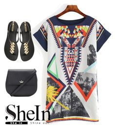 """""""Shein contes"""" by milosd ❤ liked on Polyvore featuring Kate Spade and IPANEMA"""