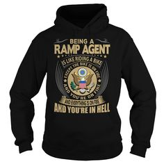 Ramp Agent We Do Precision Guess Work Questionable Knowledge T-Shirts, Hoodies. BUY IT NOW ==► https://www.sunfrog.com/Jobs/Ramp-Agent-Job-Title-104260314-Black-Hoodie.html?id=41382