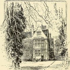 """Shaw House, Newbury Image from page 55 of """"Coaching days and coaching ways"""" (1893) Illustrations by Hugh Thomson & Herbert Railton"""