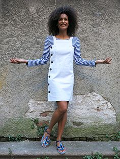 Wait And See presents ARMOR LUX shirt NATHALIE DUMEIX DRESS MISS L- FIRE shoes