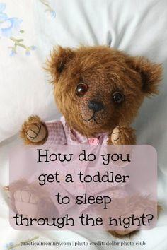 How Do You Get A Toddler To Sleep Through The Night?