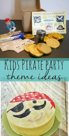 Kids themed pirate party ideas - Bubbablue and me