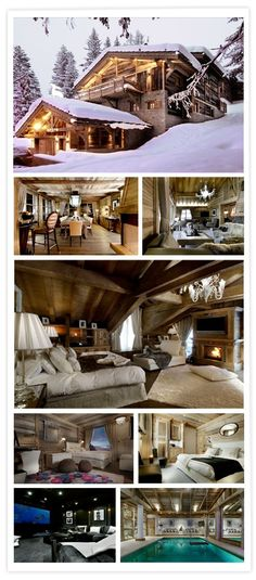 The Ultimate Luxury Ski Chalet Interior