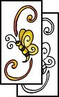 bee Tattoo Design (THF-00168)