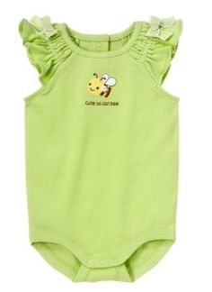 Gymboree Cute As A Bee Bodysuit for Baby Girl Various Sizes $12.95