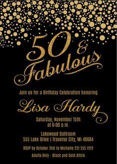 Confetti Birthday Party Invitations This Listing Is For 5 X 7 Digital Printable DIGITAL FILE