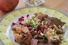 Ganz einfache Küche: Lammkeule nach persischer Art