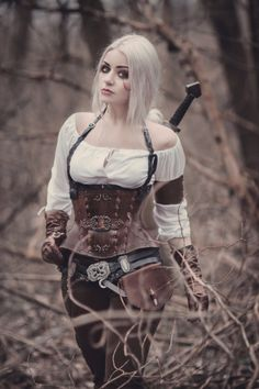 cosplay Ciri/the witcher