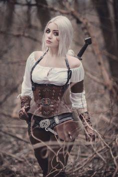 cosplay Ciri/the witcher