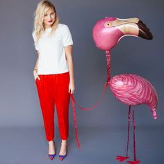 The BritList: Life-Size Flamingo Balloons, 3D Printed Glasses and More via Brit + Co.