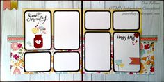 Layout created by Deb Killian, PaperHugz.blogspot.com using the May Paper Pack special, Happy Times!