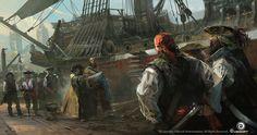 Assassin's Creed IV Black Flag Concept Art, Martin Deschambault on ArtStation at http://www.artstation.com/artwork/assassin-s-creed-iv-black-flag-concept-art-83fbf7d9-d32c-458b-af4e-e6ad613e73fe