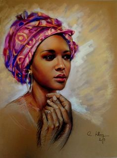 Diamant Painting African woman DIY diamond embroidery abstract girl picture Diamond mosaic cross stitch Home Decor Gift icon Orisha, African American Art, African Women, African Paintings, African Artists, Image New, Look Girl, Afro Art, 5d Diamond Painting