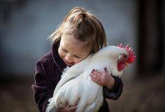 ~ freckled hen farm ~ #loveyourchickens #kidslovechickens #petchicken