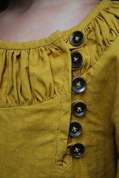 Fashion details of clothes. Fashion Details, Diy Fashion, Ideias Fashion, Womens Fashion, Fashion Design, Sporty Fashion, Winter Fashion, Diy Clothing, Sewing Clothes