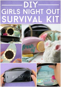 DIY Girls Night Out Survival Kit by Nifty