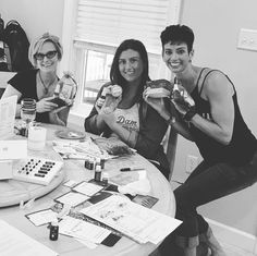 What a fun afternoon of rich conversations and playing with oils! I thoroughly enjoyed our time together ladies! We created non-toxic goodies! #diybeauty