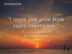 Weekly Affirmation - 11 April 2016