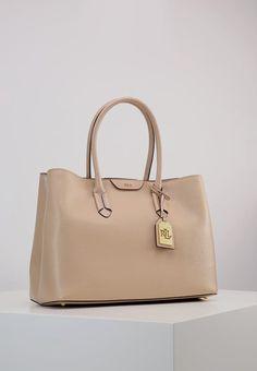 Lauren Ralph Lauren Handtasche camel Damen deutschland stores günstig  online 3a1d7712ee3