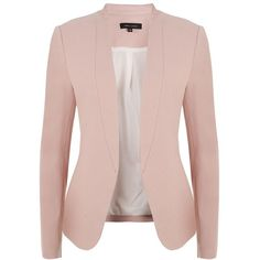 >>>Cheap Sale OFF! >>>Visit>> Opt for a smart meets casual daytime look layering this blush-toned blazer over a white tee skinny jeans and plimsolls.- Simple long sleeves- Collarless design- Casual fit- Woven fabric- Pocket detail- Model is and wears UK 6 Blazer Outfits, Blazer Fashion, Fashion Outfits, Blazer Jackets For Women, Blazers For Women, Mode Outfits, Office Outfits, Classy Outfits, Casual Outfits