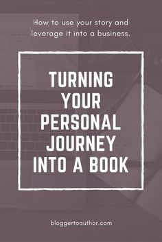Episode From Personal Journey to Book to Full-Fledged Business with Megan Olson Learn how a memoir can help you build your business