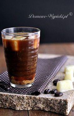 Kawa mrożona z kostkami mlecznymi Pudding, Coffee, Cooking, Recipes, Foods, Fit, Kaffee, Kitchen, Food Food