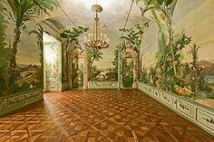 Bergl Room Mural in the Schloss Schonbrunn  in Vienna, Austria