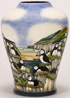 Puffins by Carole Lovrtt - Moorcroft
