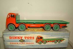 Dinky Toys diecast Foden Flat Truck
