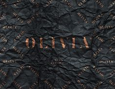 Olivia is an Urban Bistro scheduled to open in Mexico DF this year. created a sophisticated and casual identity. Urban style is given by the use of metals and textures. Copper is an essential element which will be used in the decoration of the restaurant. La Marmite, Essential Elements, Restaurant Branding, Work Inspiration, Urban Fashion, Wines, Identity, Behance, Texture