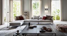 Paul沙发比例优雅,线条流畅,体现出设计师Vincent Van Duysen理性的设计理念。