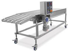 Esteiras Transportadoras de Produtos, fabricadas de Acordo com a necessidade do cliente, podem ser retas, elevadas ou curvas.
