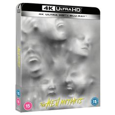 Marvel's New Mutants - Zavvi Exclusive 4K Ultra HD Steelbook (Includes 2D Blu-ray) Blu-ray - Zavvi UK The New Mutants, Big Battle, The Other Guys, Word Of Mouth, Good And Evil, 4k Uhd, Film Review, Official Trailer, Disney Pictures