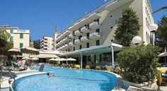 Hotel Vienna Touring Riccione Set in Riccione's centre and just 5 minutes' walk from the shopping street of Viale Ceccarini, Hotel Vienna Touring has its own large outdoor pool. Wi-Fi is free and available throughout.
