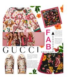"""""""Presenting the Gucci Garden Exclusive Collection: Contest Entry"""" by iconsoffashion ❤ liked on Polyvore featuring Gucci and thankyou"""