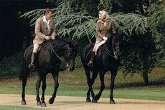 The Queen & President Reagan