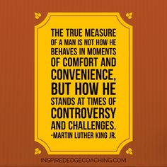 How do you stand in times of #controversy and #challenges?