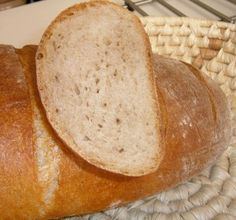 Jednoduchý kváskový chlieb s tangzhongom (fotorecept) - recept | Varecha.sk 20 Min, Bread, Food, Brot, Essen, Baking, Meals, Breads, Buns