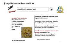 coquillettes au Boursin weight watchers au cookeo