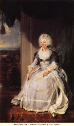 Sir Thomas Lawrence. Queen Charlotte.