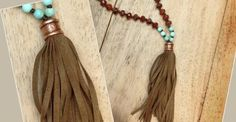 https://www.facebook.com/pages/Sandra-Younger-Jewelry/309552659072859. The Knotty Do IT All News. Tassels are everywhere especially on Mala necklaces. You can make tassels VERY EASILY with the KDIA. You can choose just about any kind of cord to make a tassel from-- deer suede lace, waxed cotton and silk. I like tassels with swing and bounce and for those kinds of tassels I use tassel cord, which is now available in 13 colors! Each spool is 40 yards.