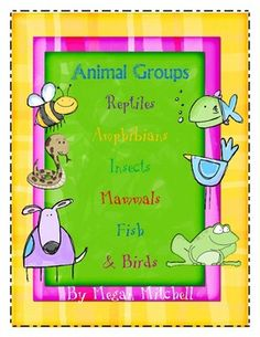 This 84 page unit is a combination of my individual animal group units.  In addition you will find a section on birds.  This unit will teach your s...