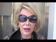 """Watch Joan Rivers Go On Rant About Gaza Conflict: ''Palestinian Civilians Deserve to Die!!!"""" BE HUMAN. SAVE PALESTINE. SAVE HUMANITY."""
