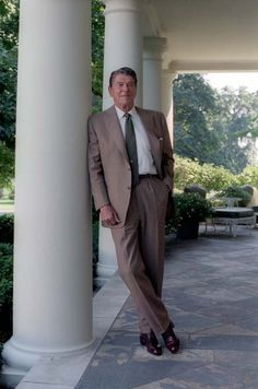 Ronald Wilson Reagan, 40th President of The United States of America. One of my favorites!
