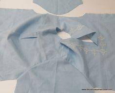 www.decosturasyotrascosas.com Sewing Patterns, Crochet, Tops, Women, Fashion, Shirt Collars, Blouses, Cut Out Shoulder Top, Dressmaking