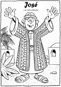 joseph dreams coloring pages | sunday school | pinterest | joseph ... - Bible Story Coloring Pages Joseph